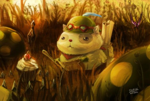 LOL  - Who fed Teemo by beanbeancurd