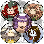 OC Buttons Part 6 by kuroitenshi13