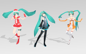 Project DIVA Extend Miku by bookazoid