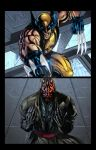 Wolverine Vs. Darth Maul Page 1 by jey2dworld