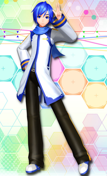 [Imitation X] Default Kaito [Update Download] by FlyingSpirits-P