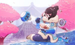 Overwatch - Mei by n07shichi