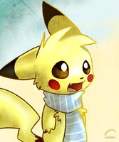 Pikachu by Crayolon