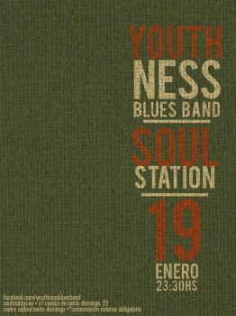Youthness Blues Band | 19ENE2013 | SoulStation by jayrivera