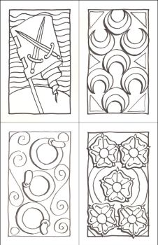 15th C. Deck of Cards - Number Cards by WorldsEdge