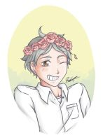 [HQ] Sugamama with a flower crown by ButterflyAlchemist