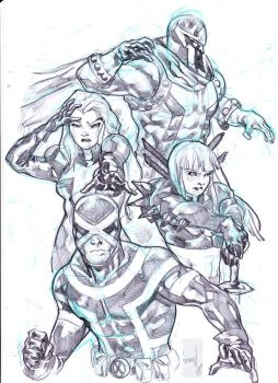 Uncanny X-men by gunzaku56
