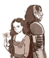 aSoIaF Sansa and the Hound by jubah