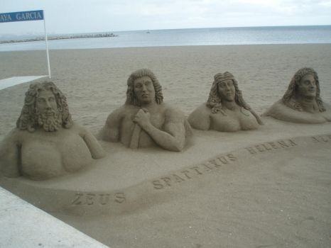 Amazing things made of sand 3 by Magrat90