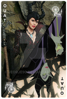 OUAT Card Maleficent by jeorje90