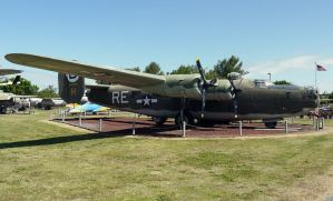 Consolidated B-24 Liberator by shelbs2
