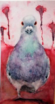 Bird IX - Pigeon on a Mission by Insa-PigWithWings