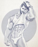 Hunk of the week #26 by silverjow