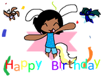 happy birthday animation by Cutie-LoveHearts15