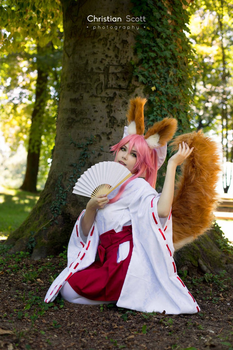 Fate Grand Order - Tamamo 3 by KiaraBerry