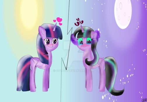 Two sides of the princess! by 5341456