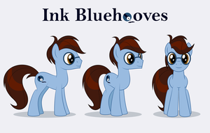 Ink Bluehooves - reference by Culu-Bluebeaver