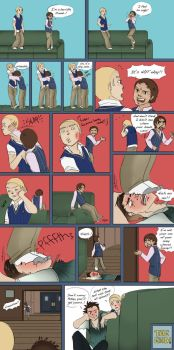 Pete has his man period page 3 by LittleKidsin