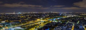 Paris Nightscape by phoeniXImagery