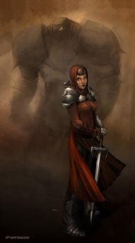 Medieval Angry Hope by Kai-S