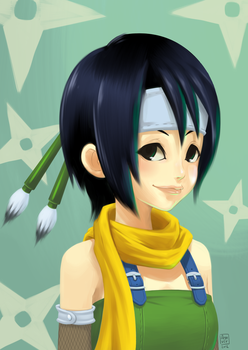 KH Yuffie UPDATED by ashvey