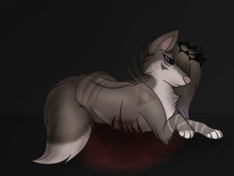 .:Crown Of Thorns:. *vent* by Ashy-the-fox