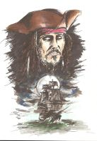 Captain Jack Sparrow by MikimusPrime