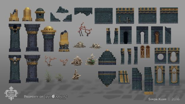 Song of the Deep - Fomori Interior Assets by acapulc0