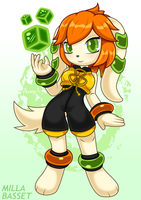 Freedom Planet 2 - Milla Basset by Arung98