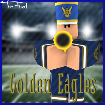 Golden Eagles Band Logo by Tom-Ford