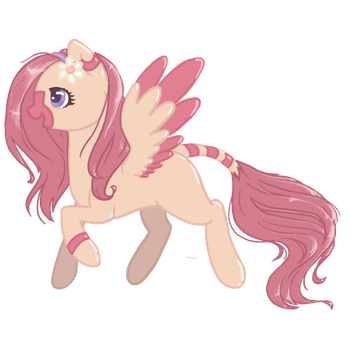 Floral  Feather Adoptable Auction CLOSED by koolcatloveanimals