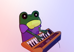 Synth Frog by NeverWastedTime