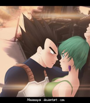 DBZ : Vegeta and Bulma_Surrender... by MimiSempai