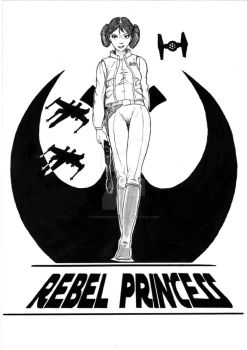 Rebel Princess by OcioProduction