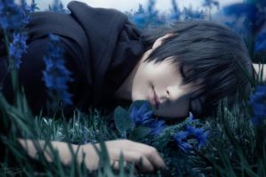 Final Fantasy XV - Noctis - Dreaming by Krisild