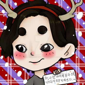 [ICON] Christmas Vernon by MartyDraws