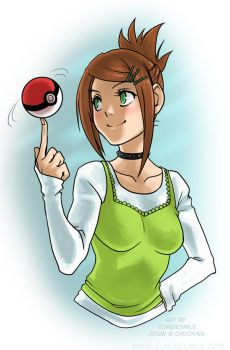 Pokemon trainer by Zombiesmile