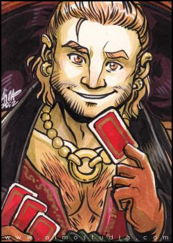 Varric Tethras by aimo