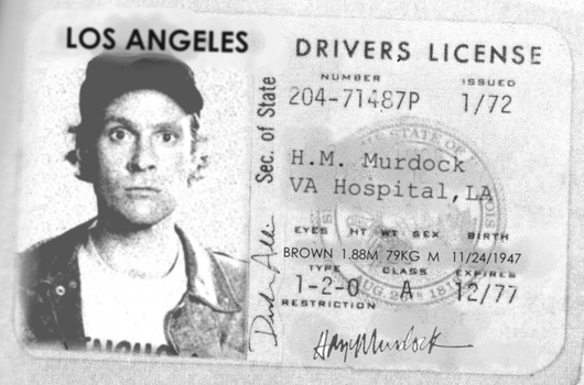 Murdock's Driver's License by pointy-earz