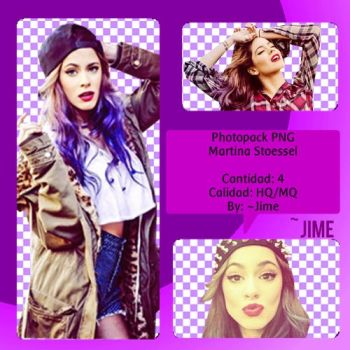 +Pack PNG Martina Stoessel by JimeRusher