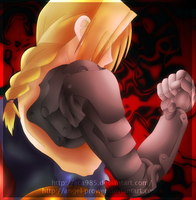 Let the Monster Rise .:Coloured Edward Elric:. by Angel-Prower