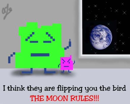 The moon rules by SweetNLoewy
