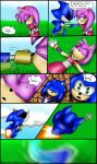 Sonamy short comic: Fight with Metal part 2/4 by TothViki