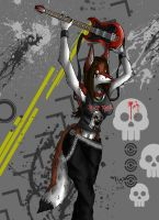 Iron Canis Maiden by kigasiller