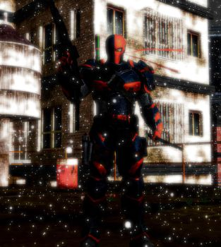 Deathstroke The Terminator by WOLFBLADE111