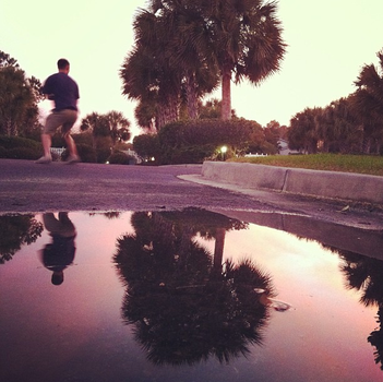 Puddle Reflection by Sokztastic