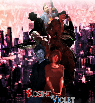 Rosing Violet Poster by WitchyGmod