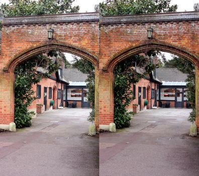 Stereoscopic XI stable Yard by aegiandyad
