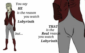Why you really watch Labyrinth by chaiiro03