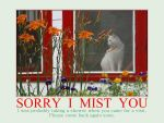 Sorry I MistYou by MichelLalonde